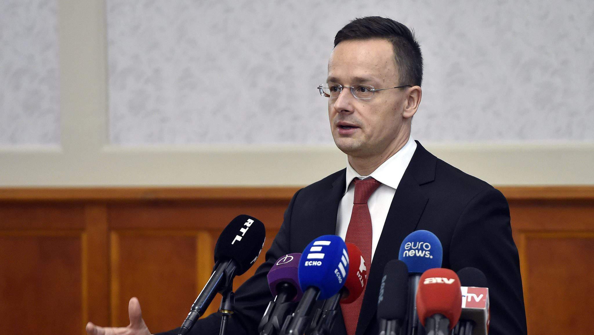 Péter Szijjártó foreign minister