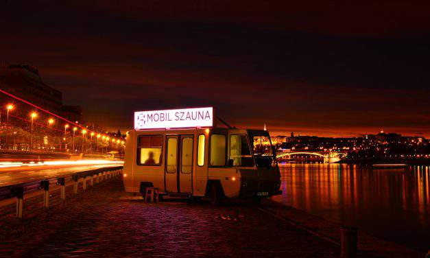 Have you ever used a sauna bus on the bank of the Danube?
