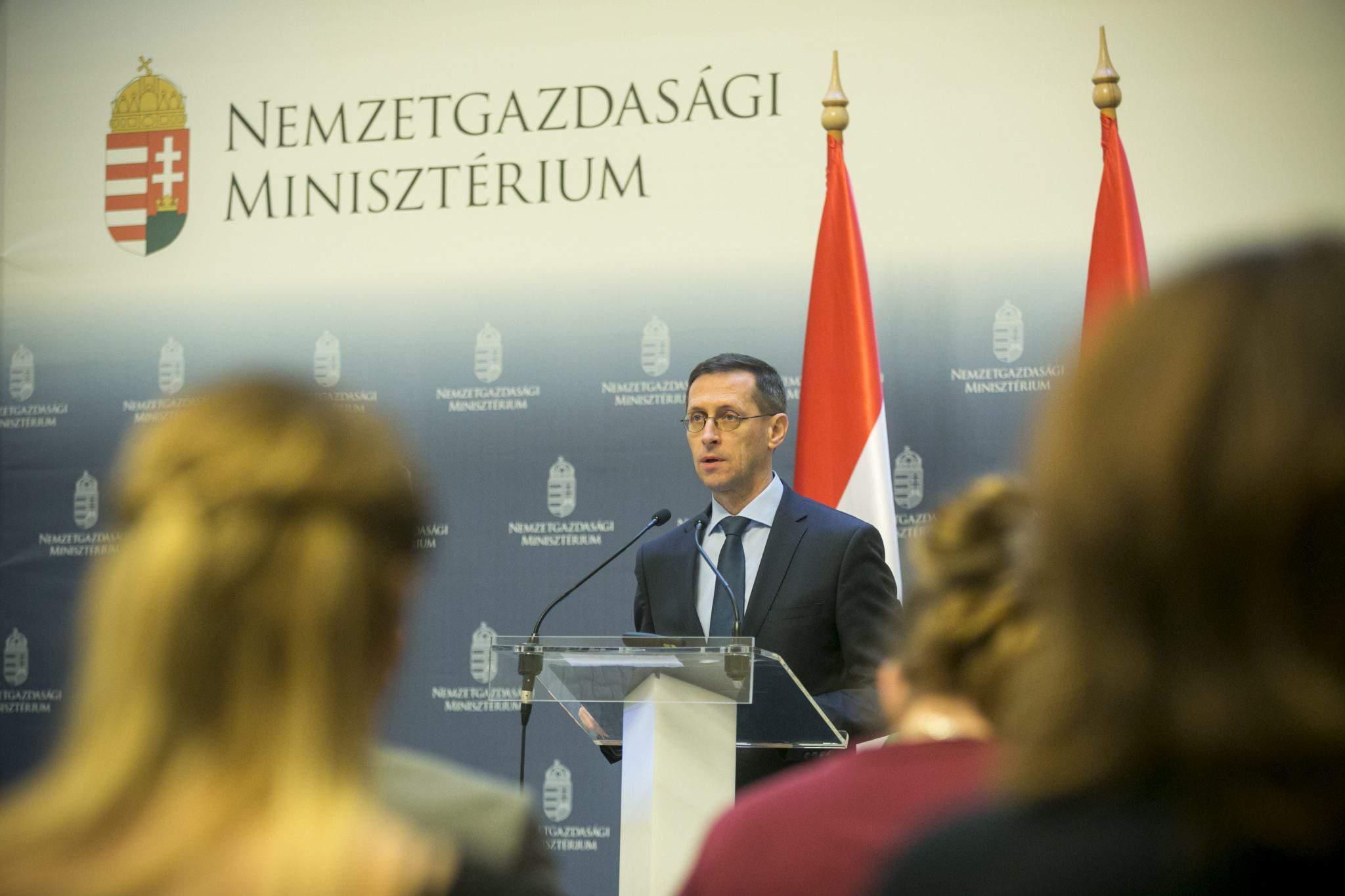 Hungary economy minister Varga