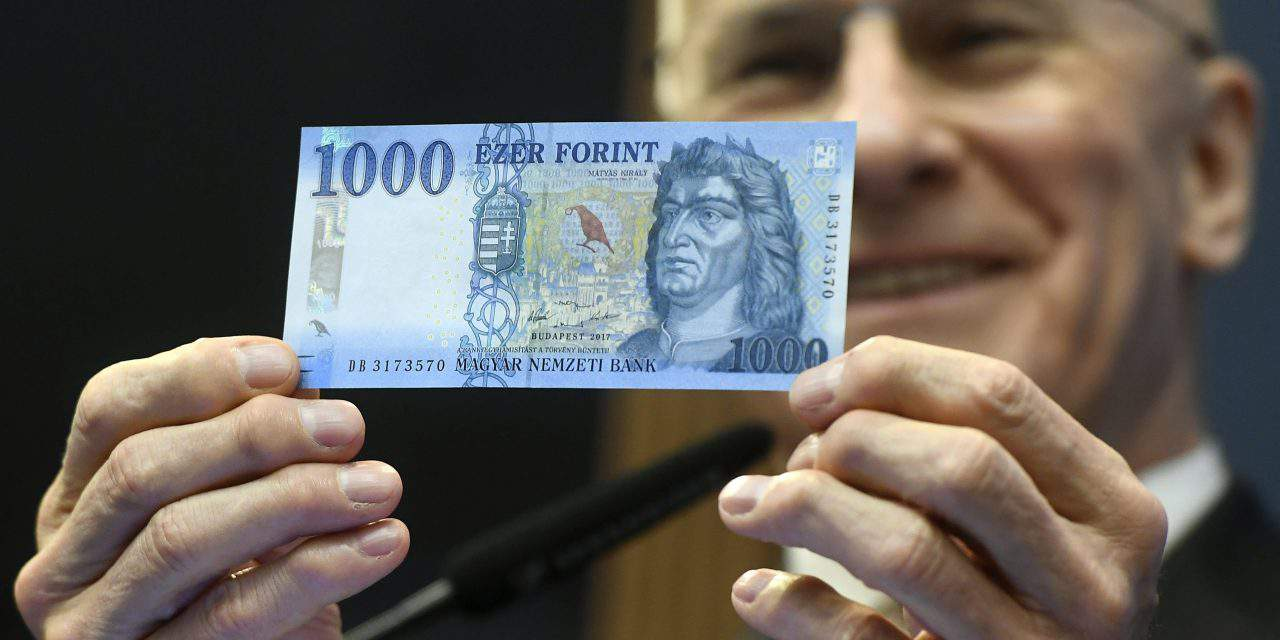 New HUF 1,000 bill enters circulation TODAY