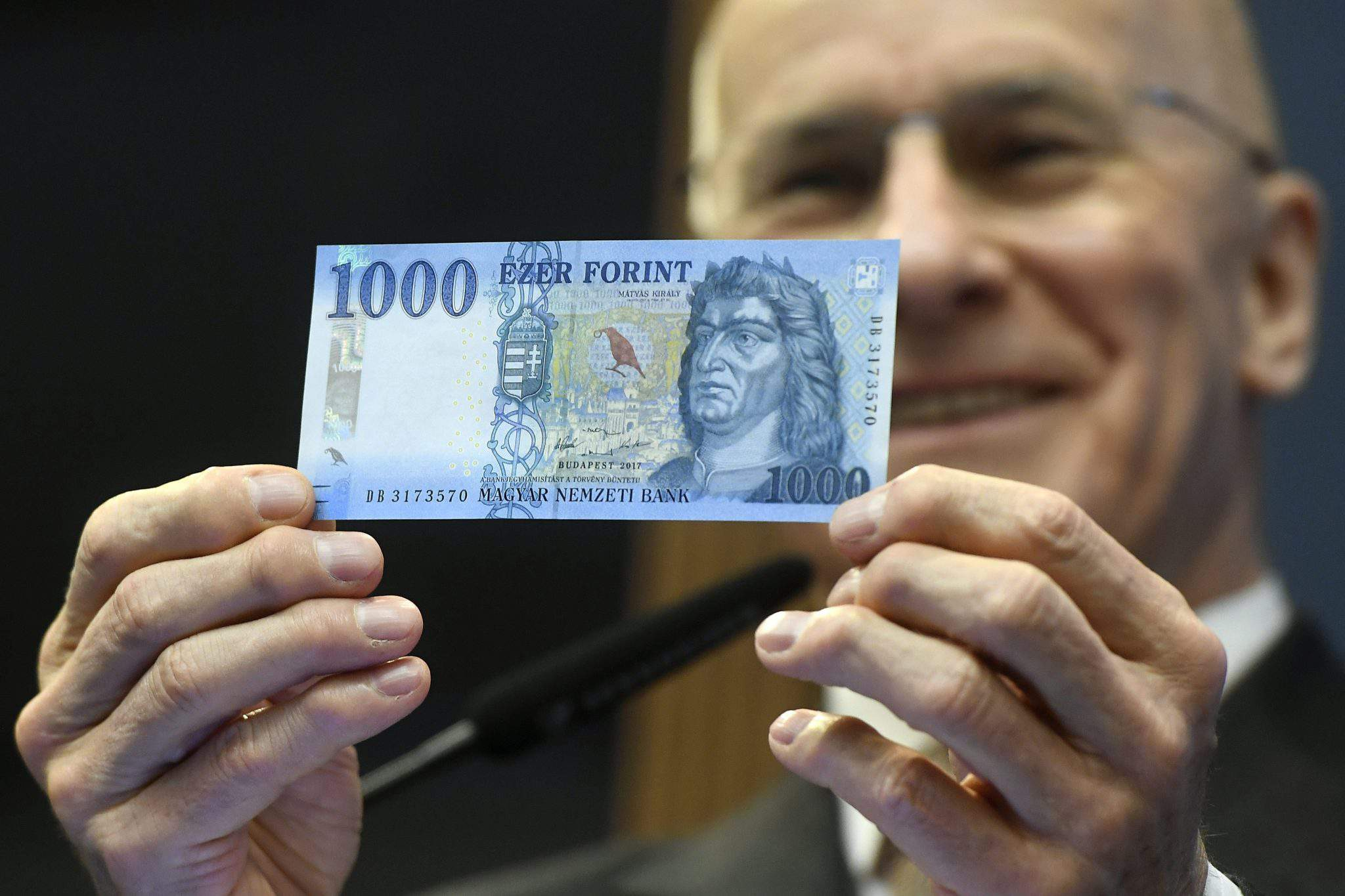 National Bank of Hungary money new bill