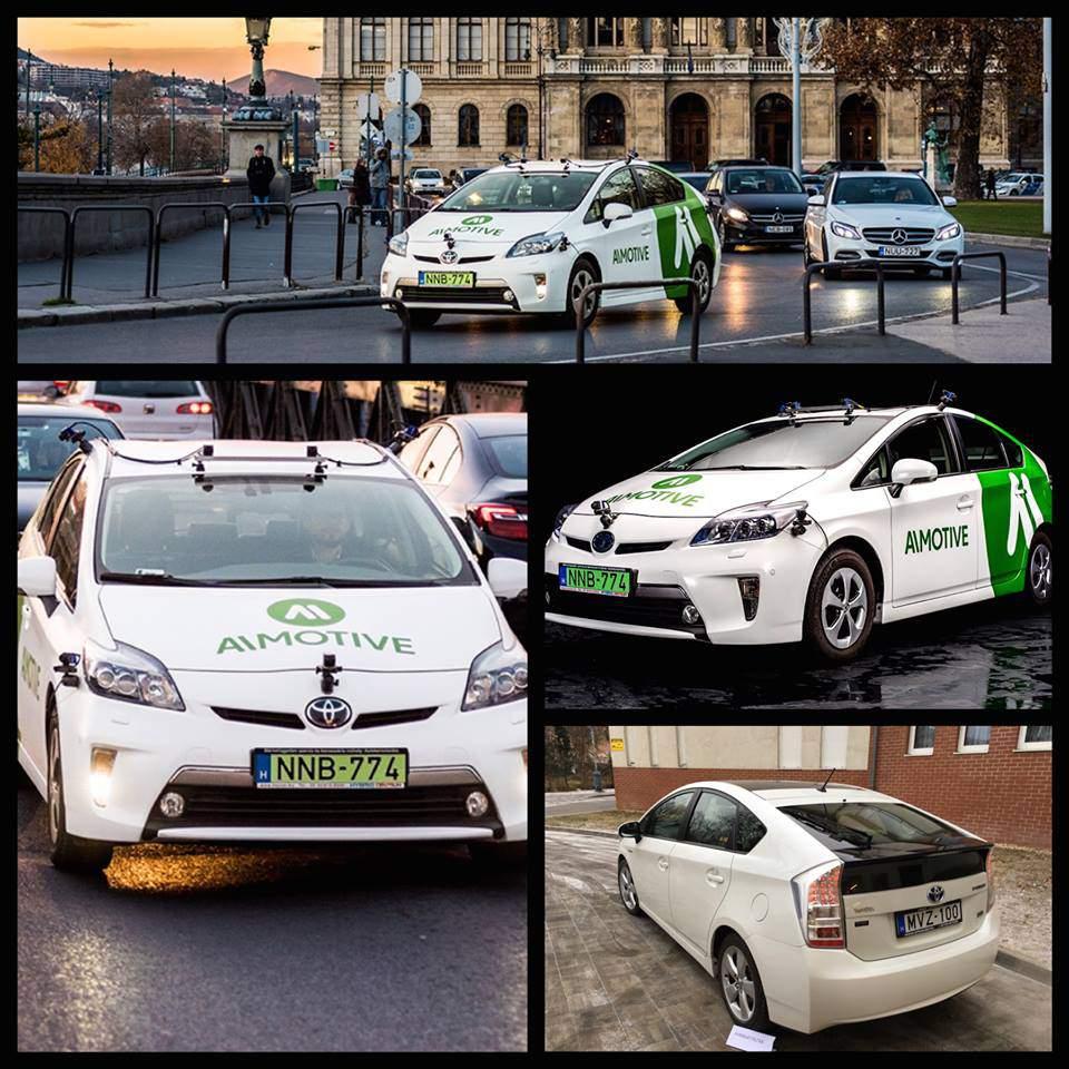 car autonomous autó solar AImotive