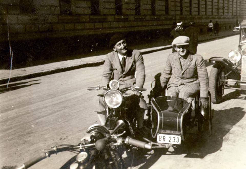 Szent-Györgyi Albert motorbike motor sport