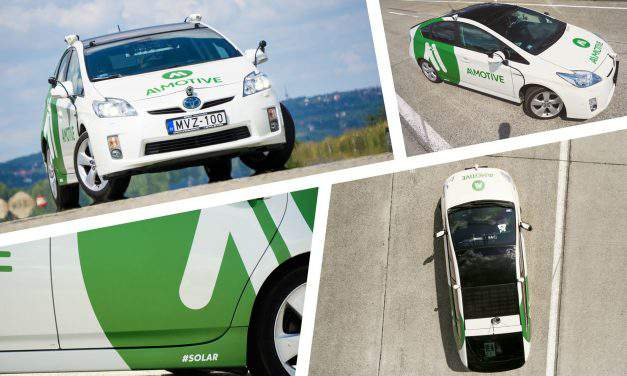 Hungarian autonomous cars caught attention in Las Vegas