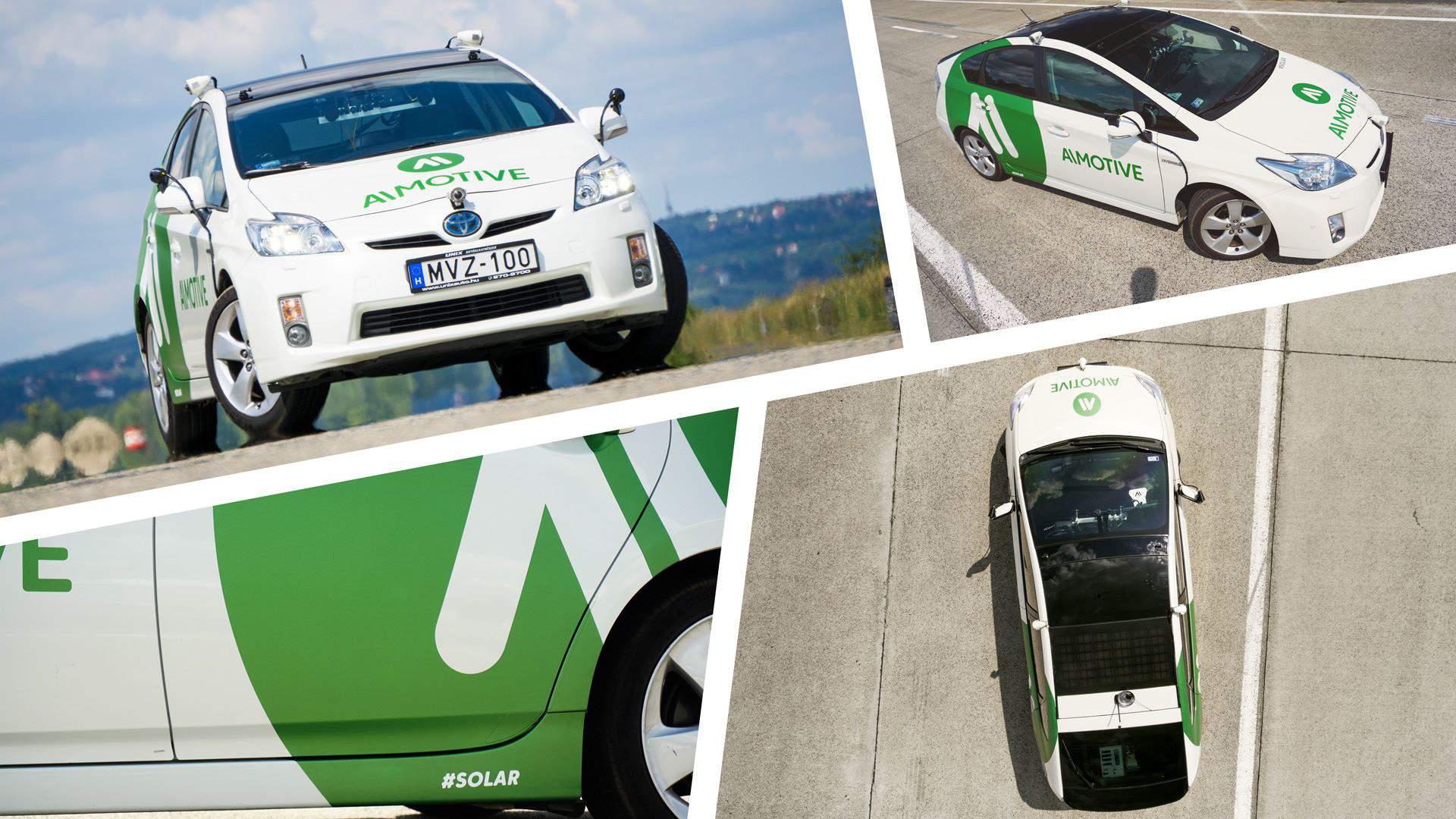 car autó solar autonomous AImotive