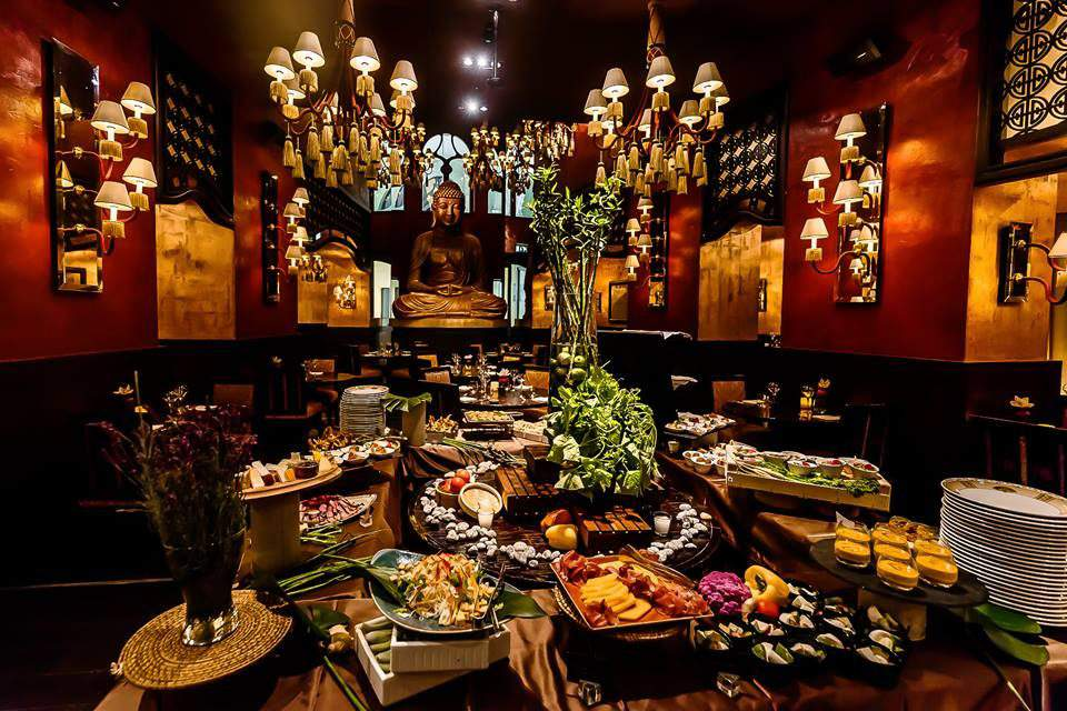 Buddha-bar: A mysterious culinary journey through Asian perfectionism in Budapest
