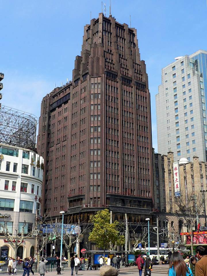 hudec hugyecz lászló architecture architect Shanghai