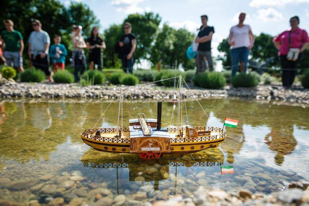mini miniature Szarvas maquette boat hajó csónak ship