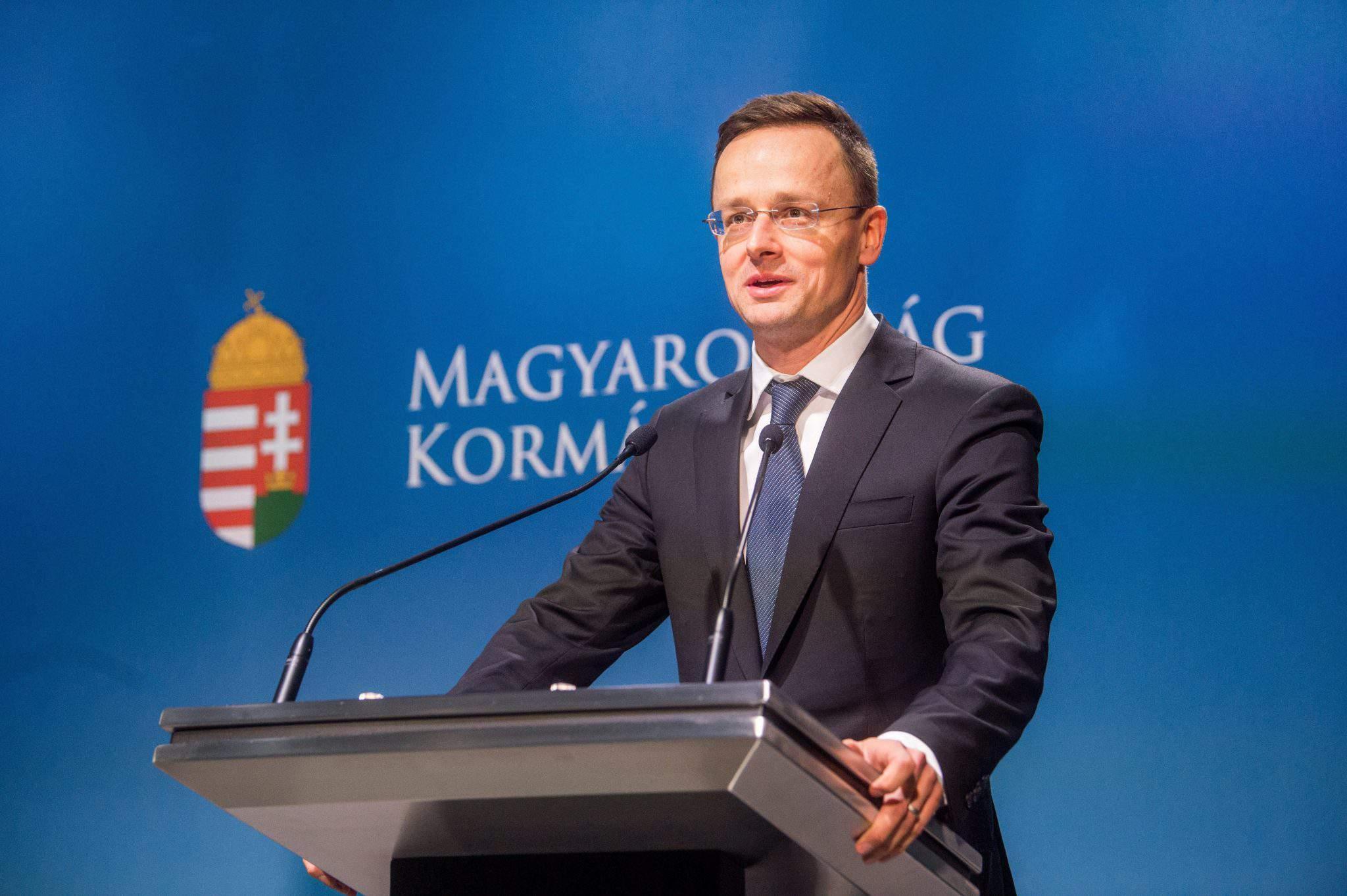 foreign minister Szijjártó hungary