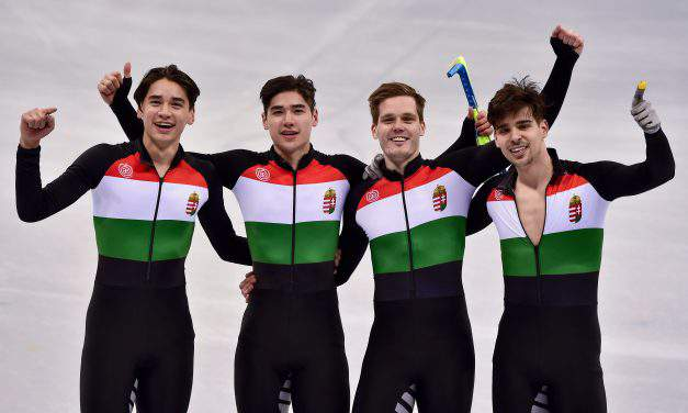 BREAKING NEWS! First ever Hungarian Gold at the 2018 Olympic Winter Games
