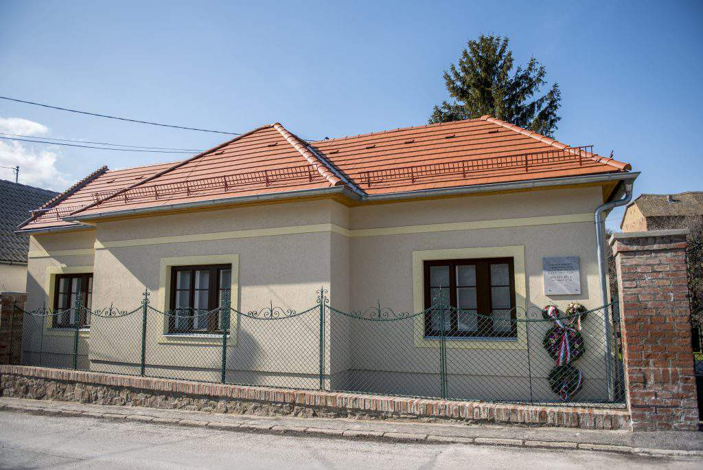Pécs, Hungary - Béla Kovács's plaque