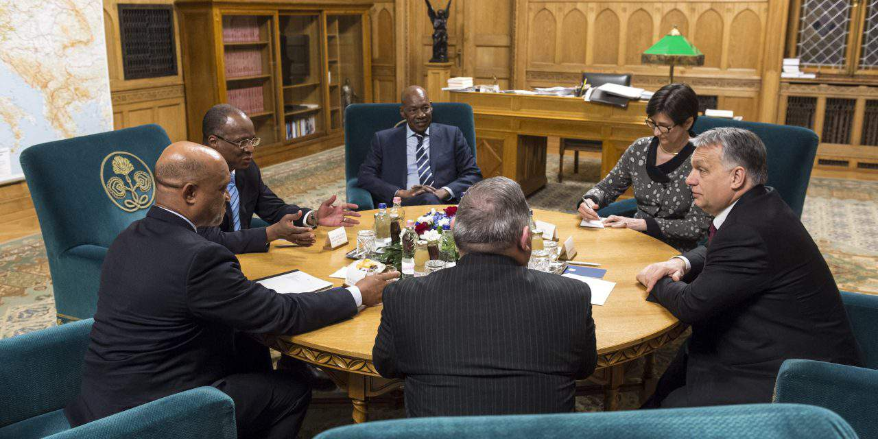 Hungary, Cape Verde prime ministers meet for first time in history