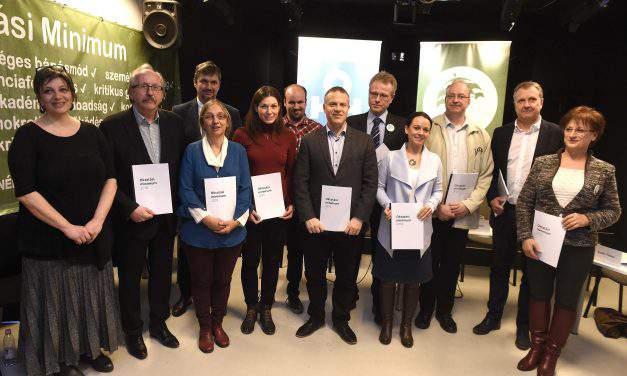 Teacher movements, opposition parties sign education reform concept