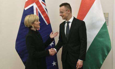 Hungarian FM: Hungary, Australia on same page on migration