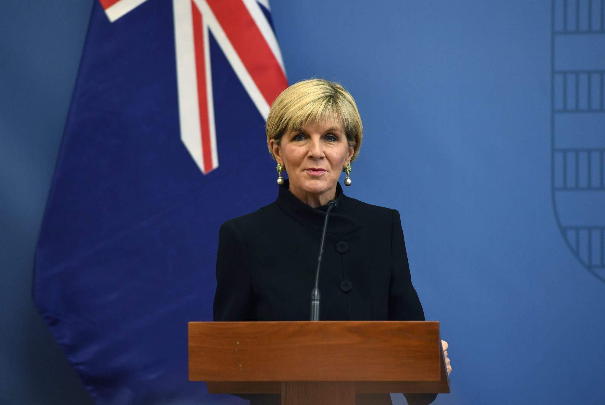 Bishop australia foreign minister