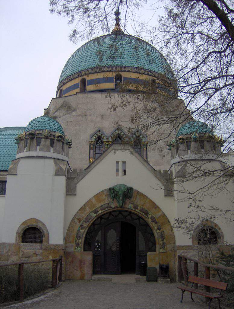 Budapest zoo building