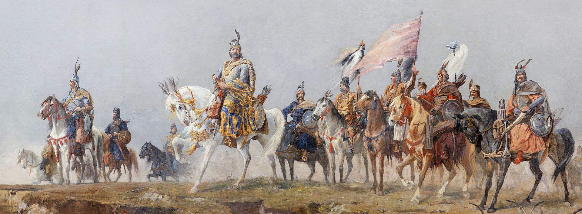 Árpád Feszty Panorama Ópusztaszer conquest Carpathian Basin