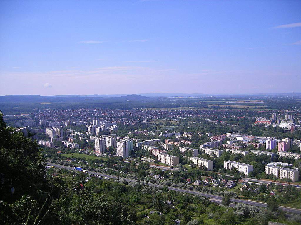 Tatabánya view city