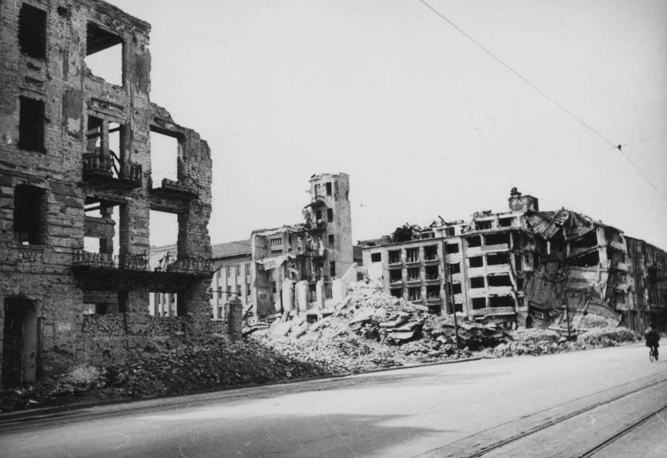Hungary Budapest building war