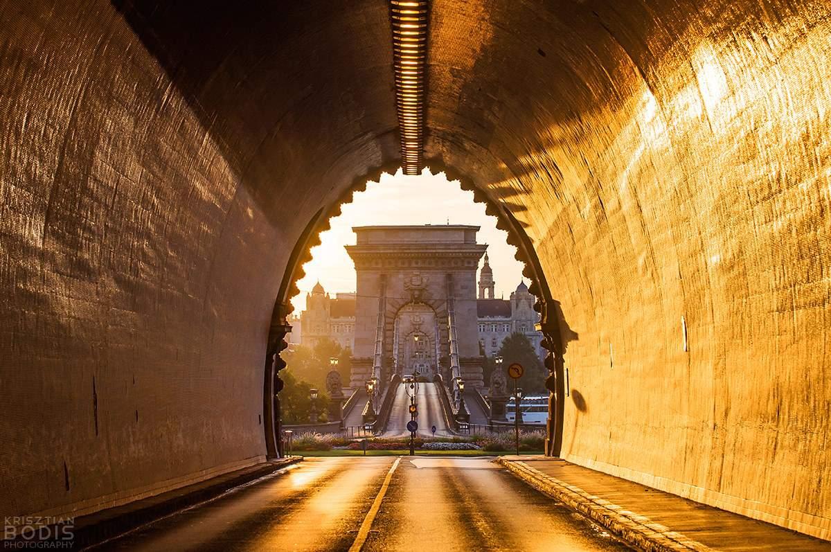 budapest tunnel chain bridge