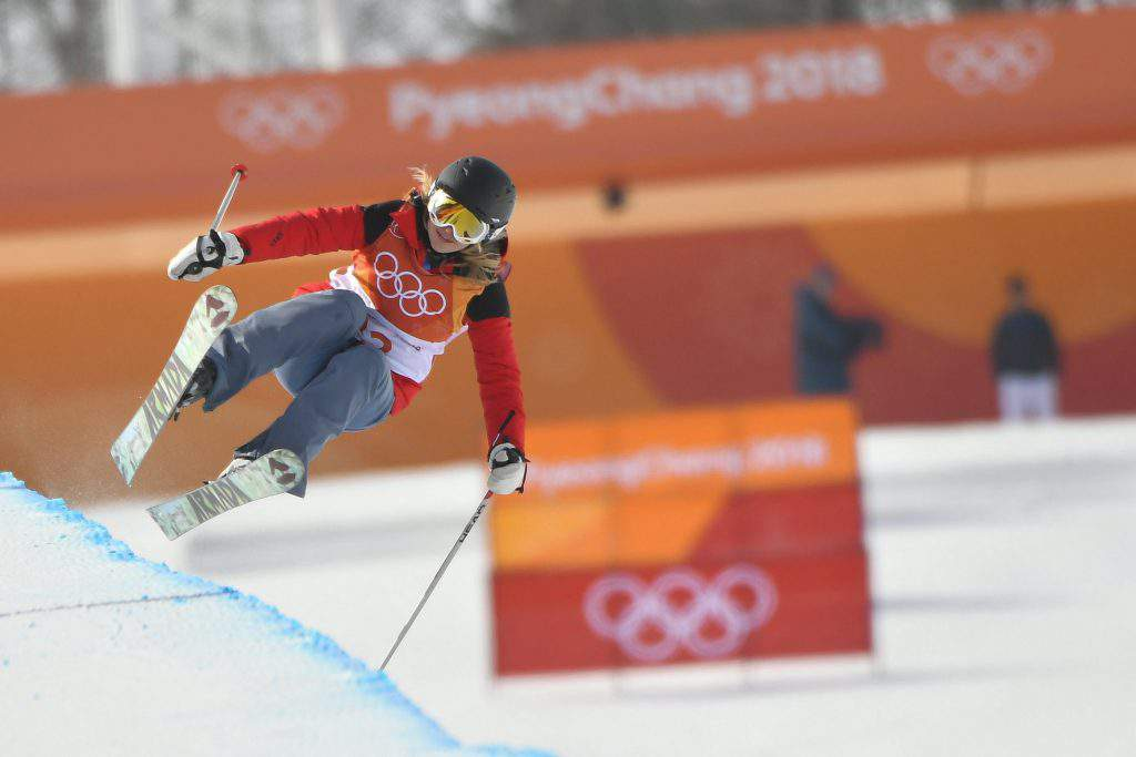 Elizabeth Swaney freestyle skiing Winter Olympics