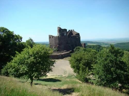Hollókő castle vár rom