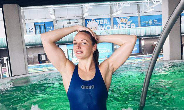 Katinka Hosszú is the best female swimmer of the year