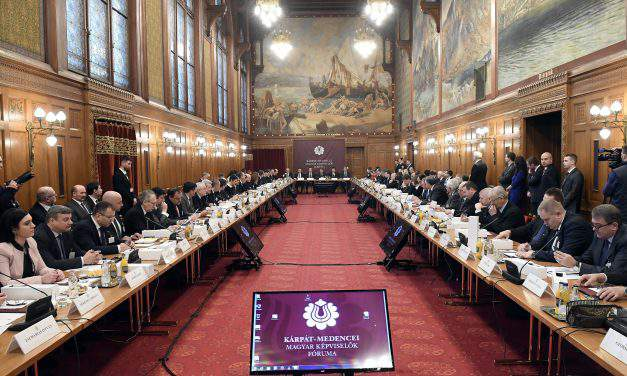 Hungarian MPs of Carpathian Basin meet in Budapest