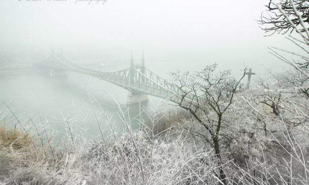 Budapest: Record breaking cold temperatures sweep through the city