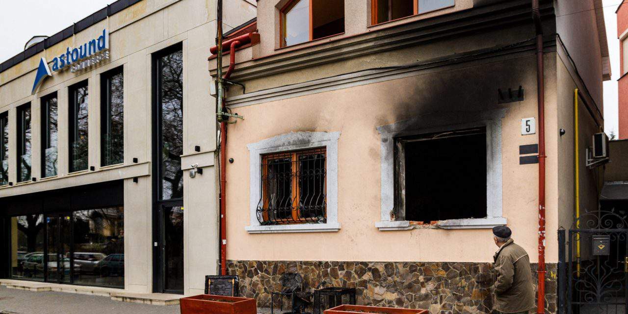 Hungary summons Ukrainian ambassador over attack against Hungarian cultural association's office
