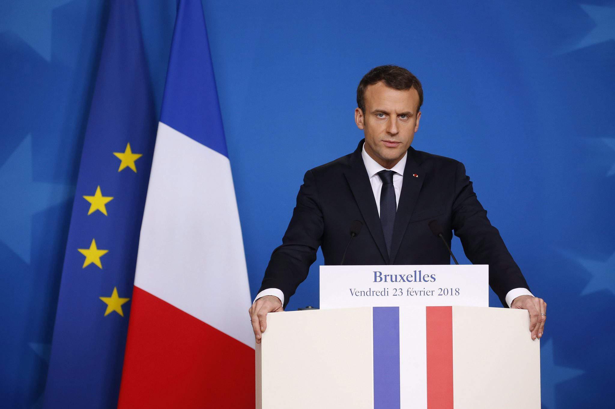 Emmanuel Macron election2018 EU