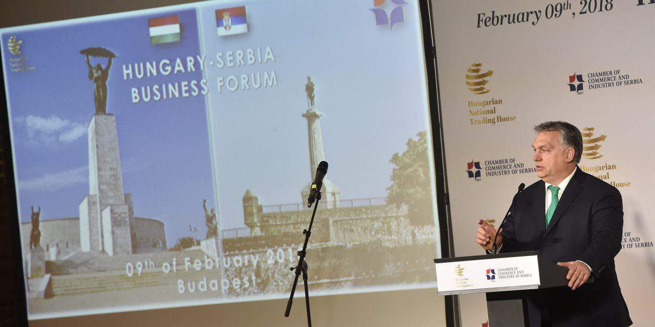 Viktor Orbán: Hungary, Serbia need to protect border together