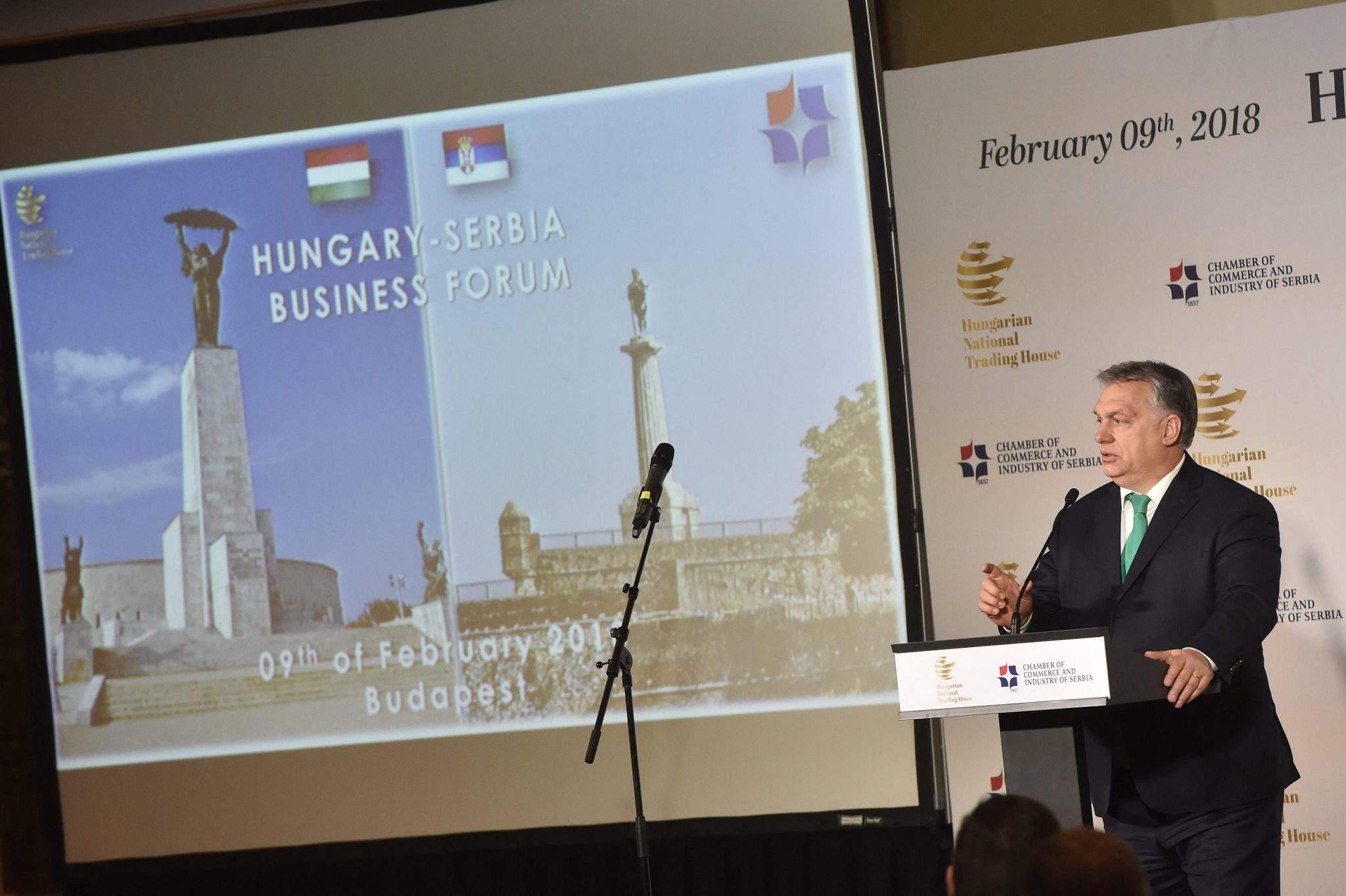 Viktor Orbán Serbia Prime Minister