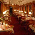 MÁV nosztalgia vonat gyertyafény vacsora dinner candlelit train