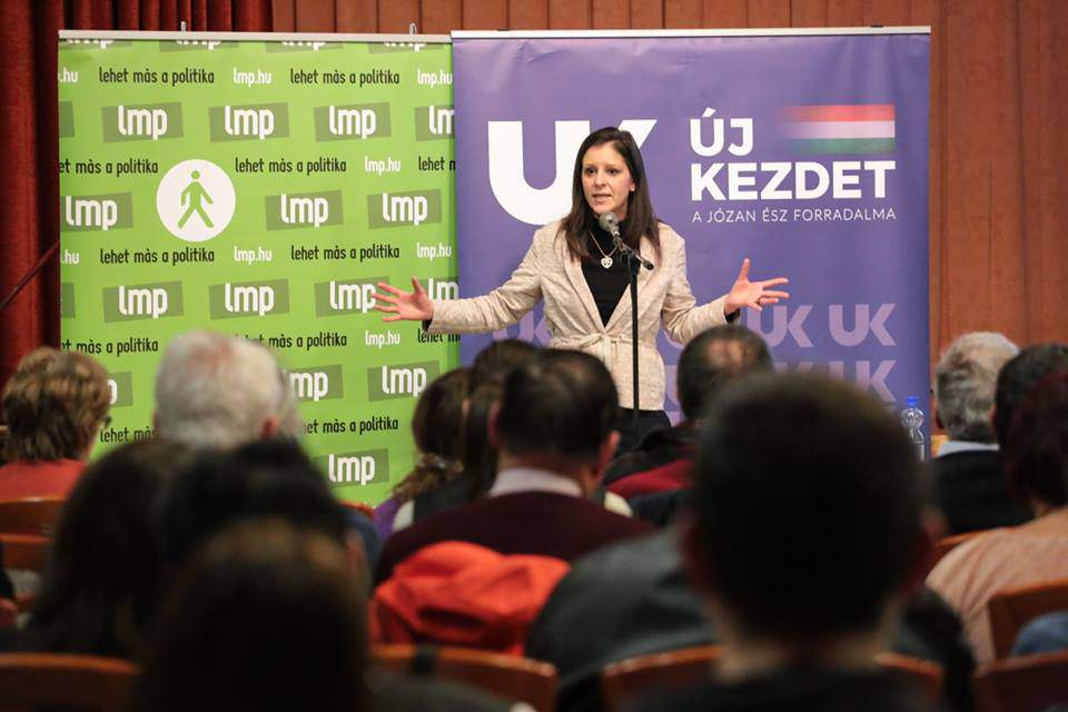 Bernadett Szél LMP election2018