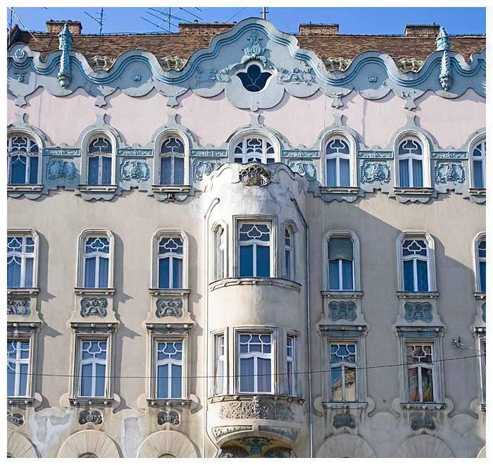 Budapest architecture building visit