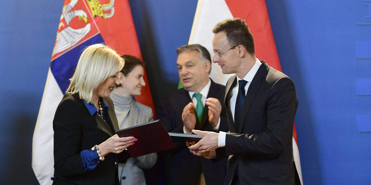 Orbán voices support for Serbia EU integration at Hungary-Serbia business forum
