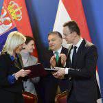 Serbia Hungary summit agreement