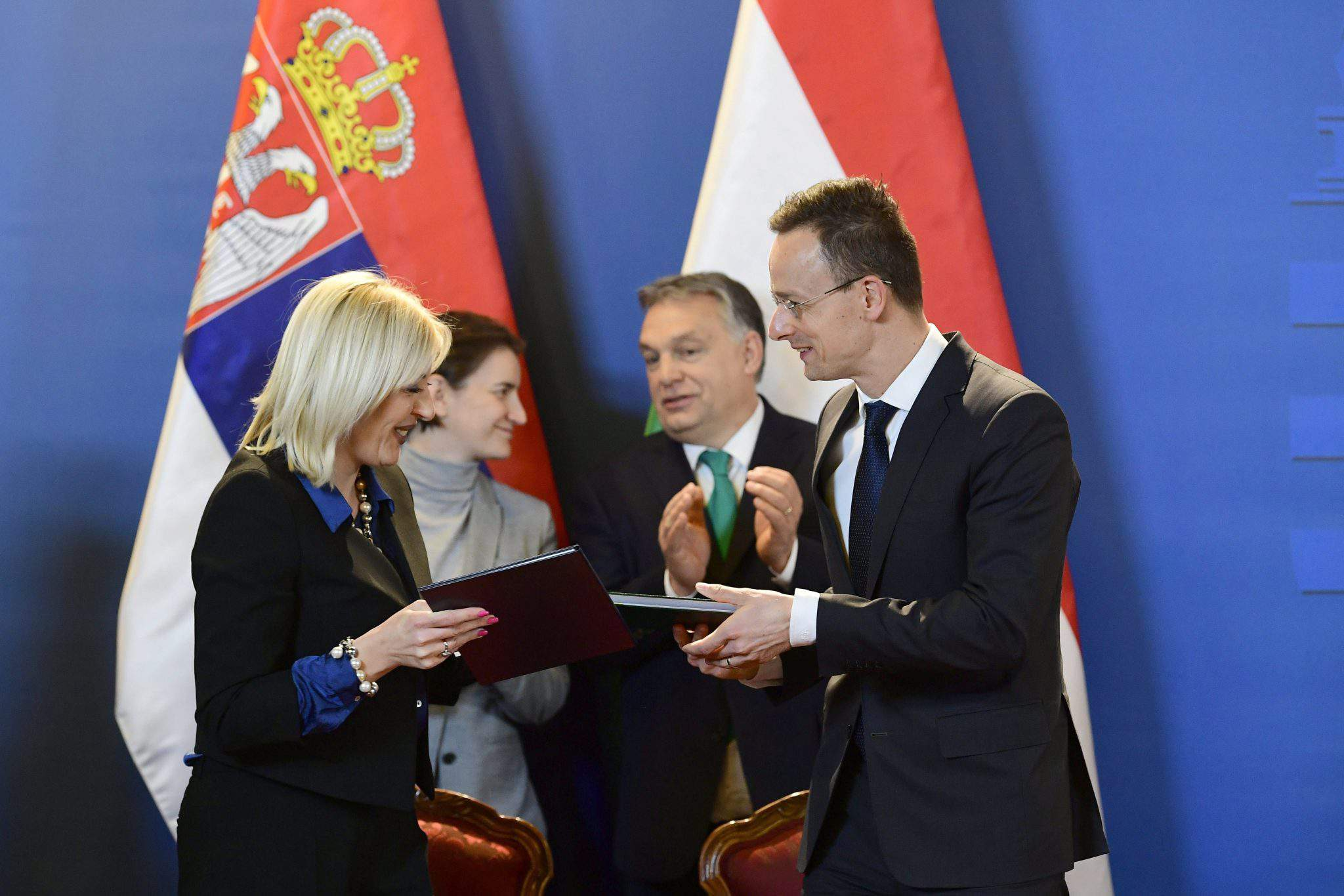 Serbia Hungary summit agreement