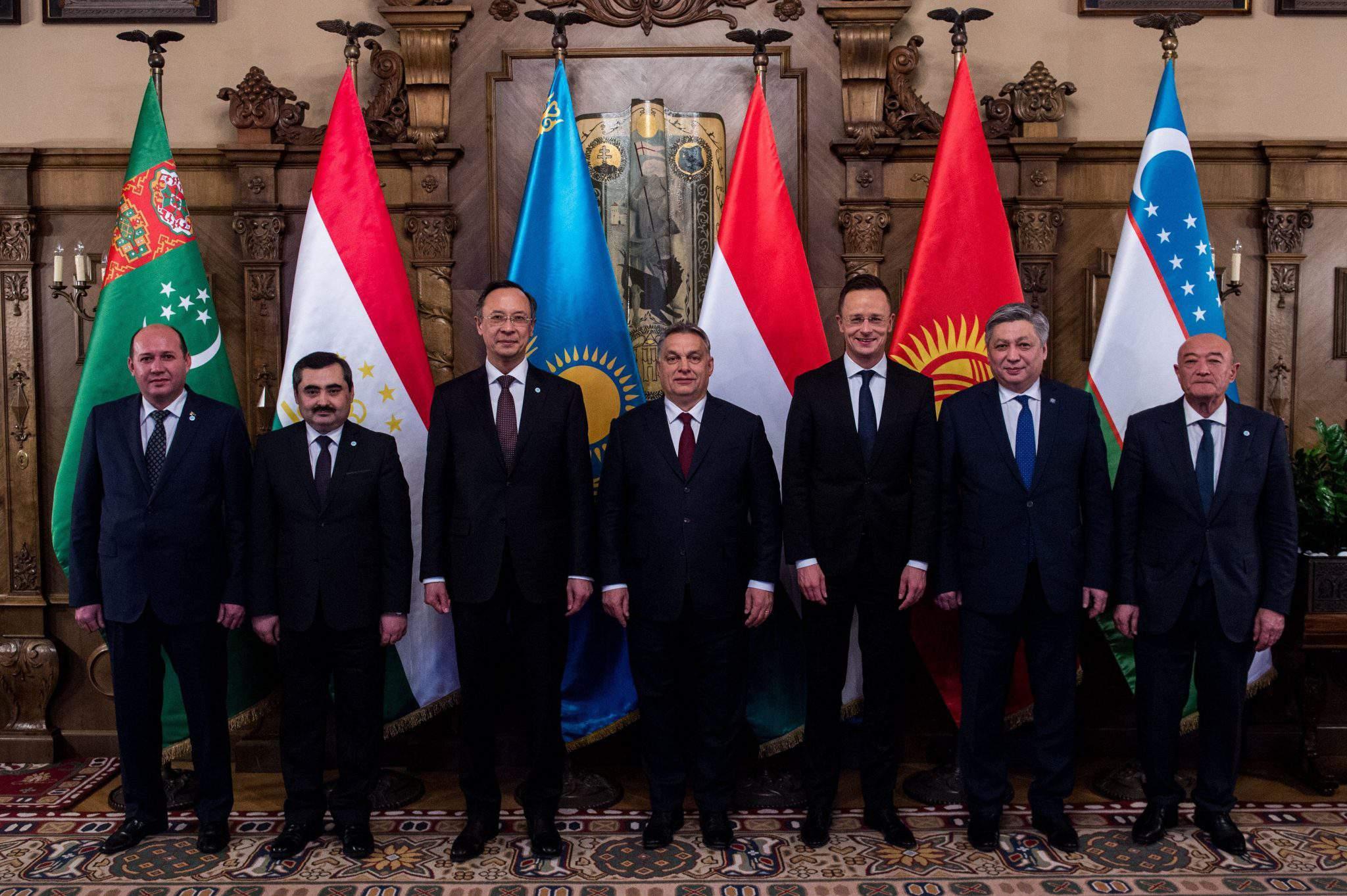 Visegrád Four Central Asia