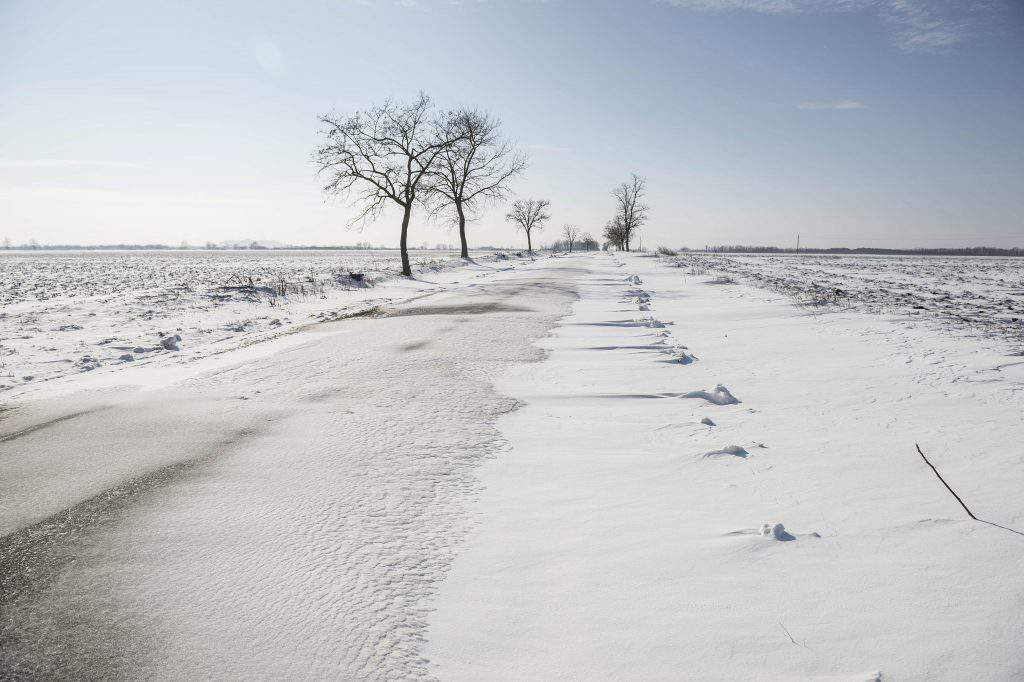 winter weather nature Hungary