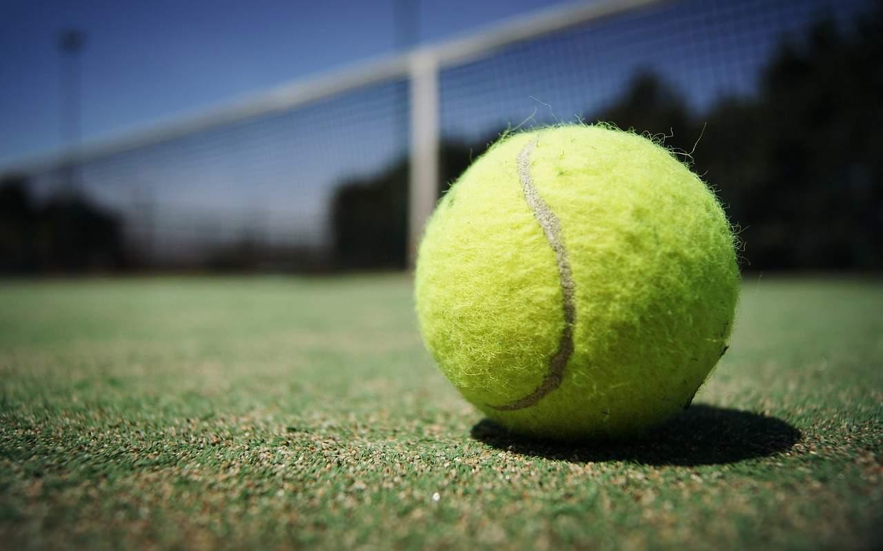 tennis ball court sport