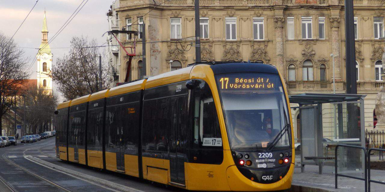 A dead man travelling by tram unnoticed for more than 6 hours in Budapest