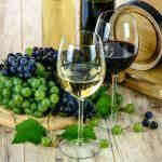 grape wine red white