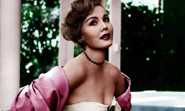 The celebrated Hungarian actress, Zsa Zsa Gábor, and the secret for men's heart