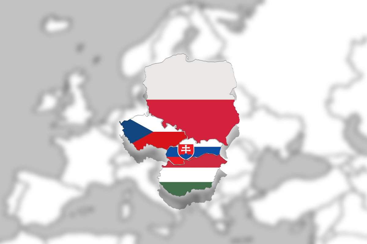 visegrad group four v4
