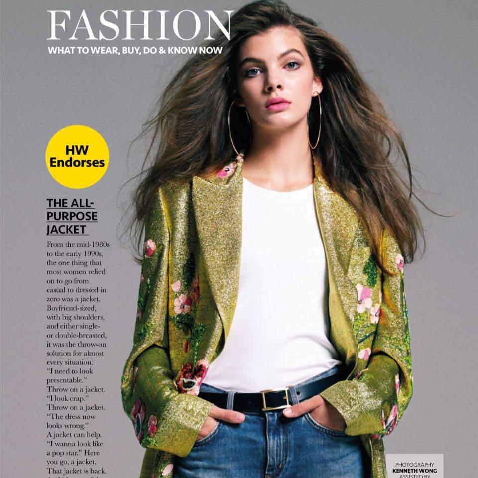 model Panna Pásztor magazine