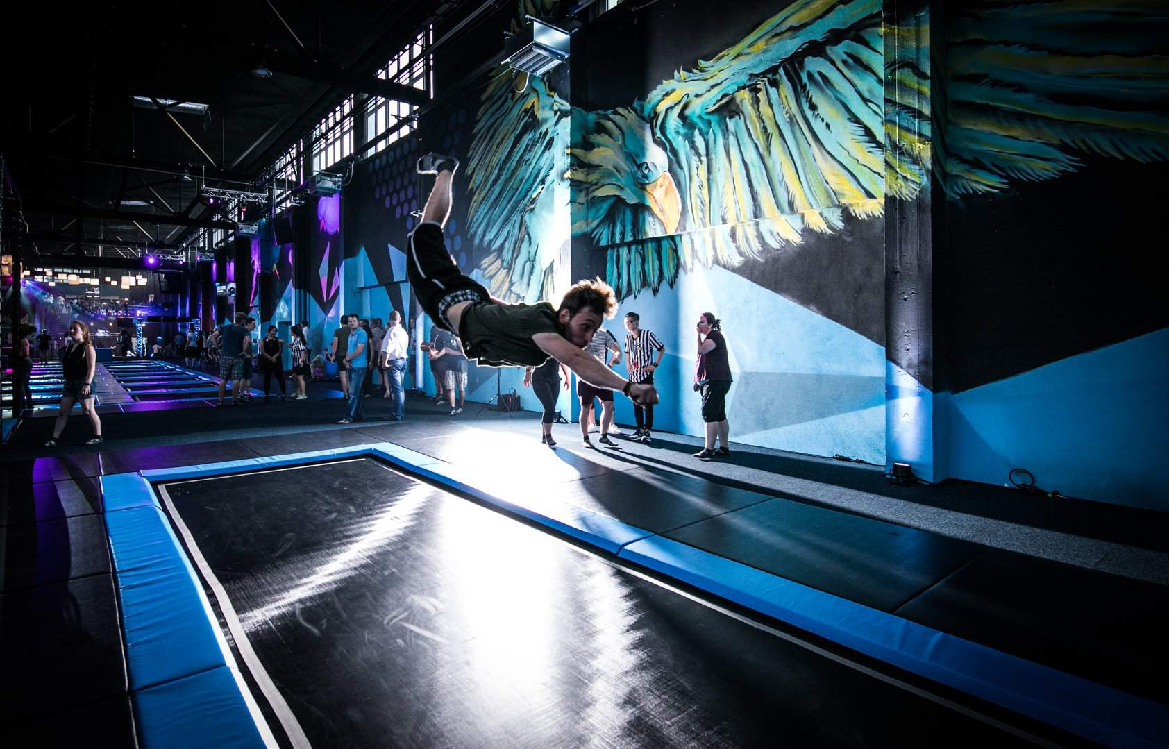 trampoline park Dresden Superfly