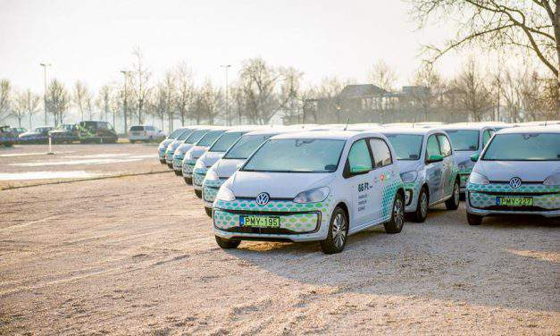 Carsharing services on the rise in Budapest
