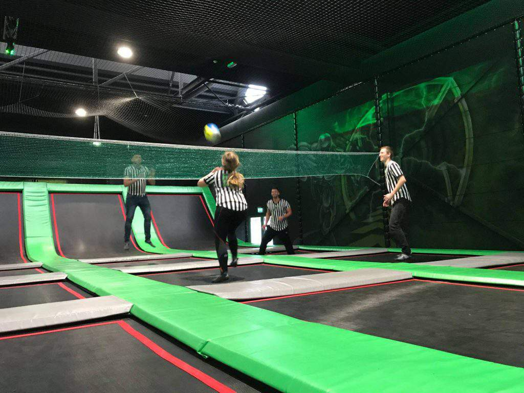 trampoline park Aachen Superfly